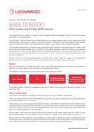 Guide to Block 1 - 100+ Post 1 May 2005 joiners